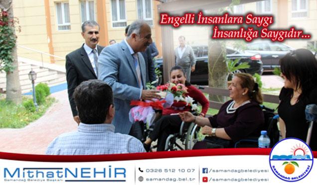 Samandağ belediye başkanı Nehir'in engelliler günü mesajı