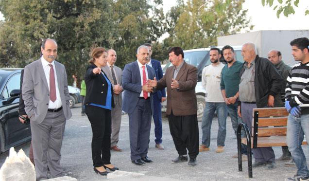 Samandağ belediyesi'den yeni parklar