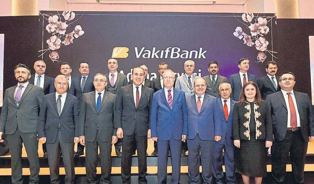 Vakıfbank, Adana zirvesinde buluştu