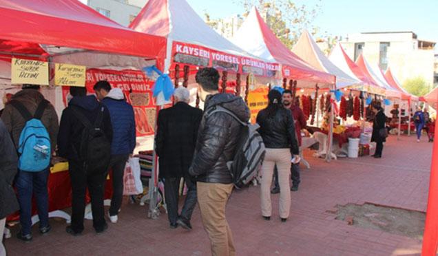 Samandağ'da Yöresel Ürünler Fuarı