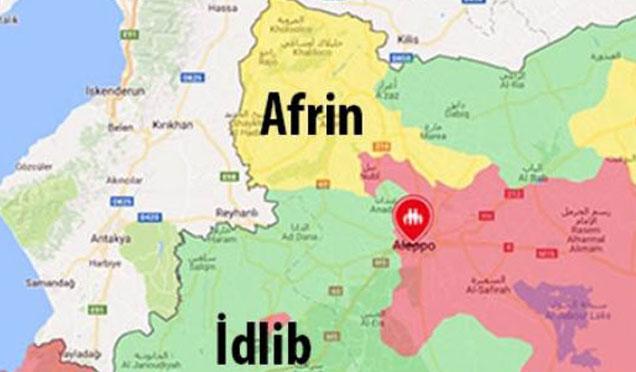 Ordumuzun Afrin'de ilerleyişi devam ediyor