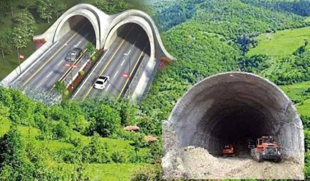 Asrın projesi Amanos Tüneli; 2018 yatırım programına alındı