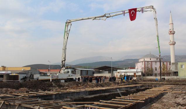 Kırıkhan TÜVTÜRK Araç Muayene İstasyonunun temeli atıldı