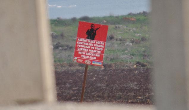 Hatay'da özel güvenlik bölgesi kararı