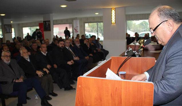 Saadet Partisi Kırıkhan İlçe Başkanı Atilla Erol güven tazeledi