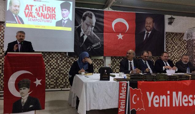 Hatay'da 'Atatürk Vatandır' Sempozyumu yapıldı
