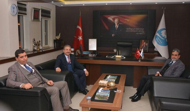 Milletvekili Şanverdi, Başkan Kimyeci'yi ziyaret etti