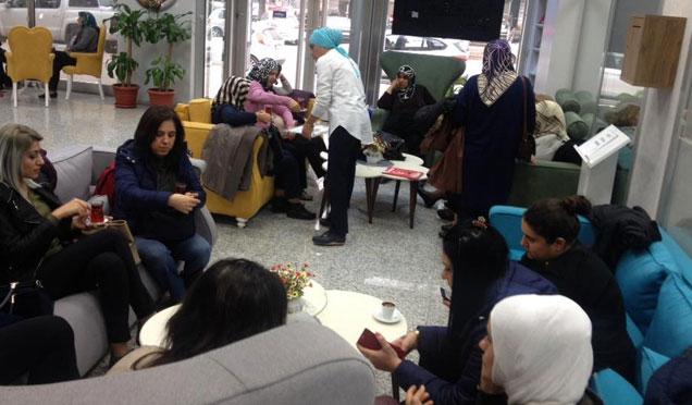 Özel günlerin toplantılarında ilk tercih Antakya Hanımlar Lokali