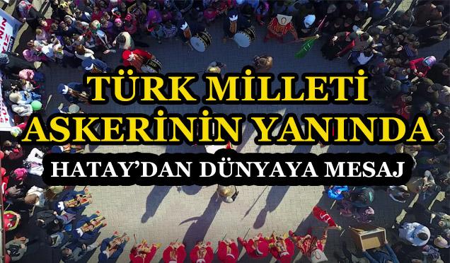 Türk Milleti Ordusuna sahip çıkıyor