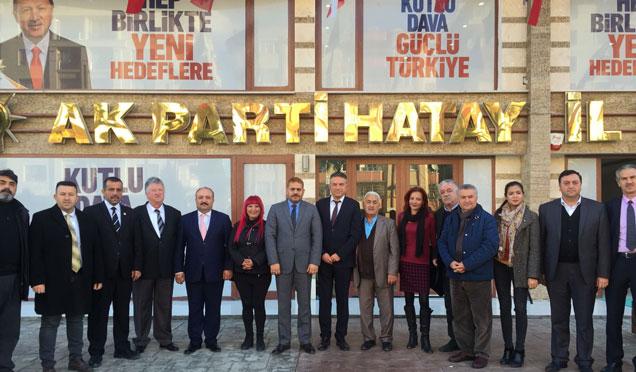 HGC yönetim kurulu ve üyeleri siyasi partilerin il başkanlarını ziyaret etti
