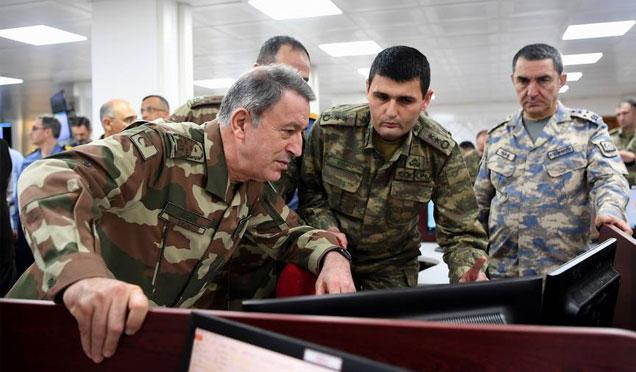 Genelkurmay Başkanı Akar Zeytin Dalı Harekatı inceleme görüntüleri yayınlandı