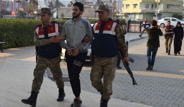 Hatay'da terör örgütü DEAŞ üyesi 2 kişi yakalandı