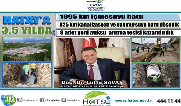 HATSU'dan Hatay'a 8 yeni atıksu arıtma tesisi