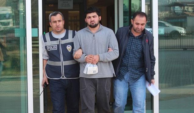 Tırlardan mazot çalan şahıs tutuklandı
