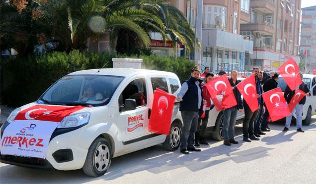 Merkez Market'den Afrin operasyonuna destek konvoyu