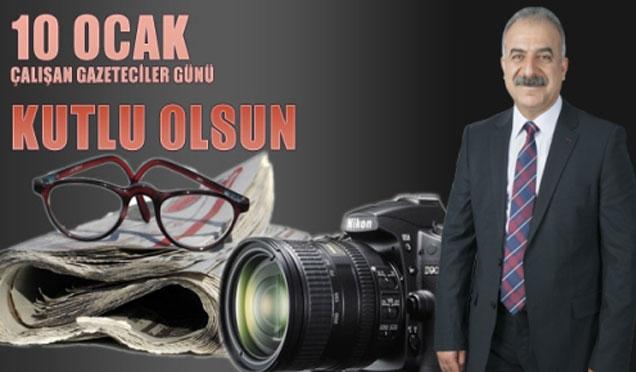 Başkan Mithat Nehir'in 10 Ocak Çalışan Gazeteciler Günü Kutlama Mesajı