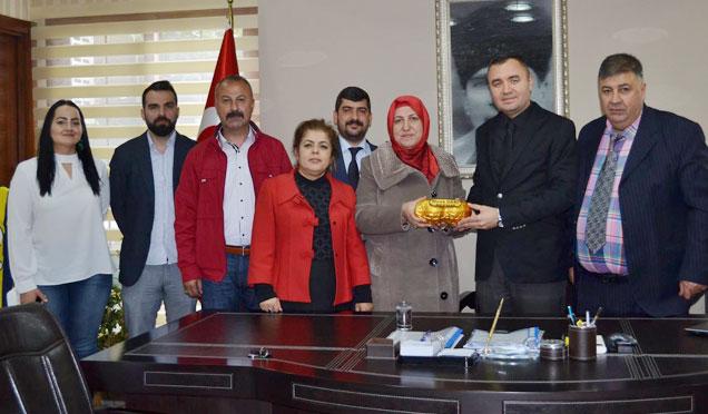 Osmaniye Uluslararası Tanıtma Derneği Hatay ziyaretleri