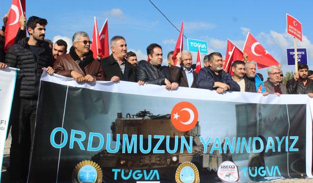 TÜGVA'dan 'Zeytin Dalı Harekatına' destek