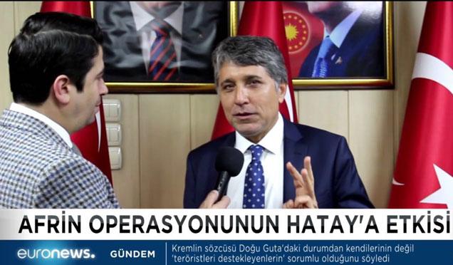 Başkan Yavuz Kırıkhan'ı Dünya gündemine taşıyor