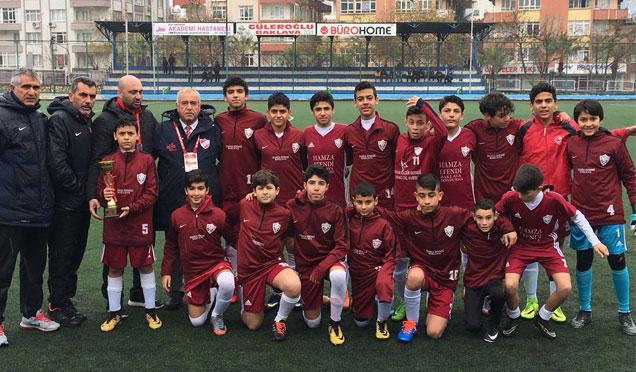 Hatayspor U14 takımı Şampiyon oldu
