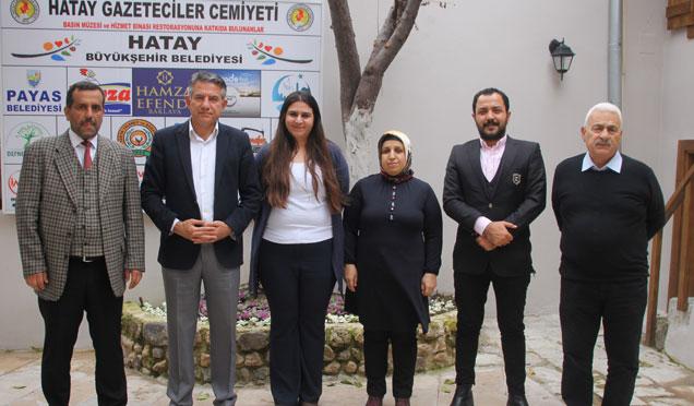 Sokullu Mehmet Paşa Külliyesi Yönetiminden HGC'ye ziyaret