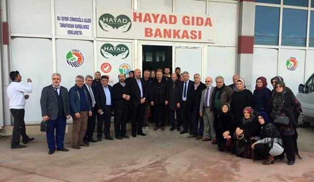 İstanbul Muhtarlar Derneğinden HAYAD Derneğine ziyaret