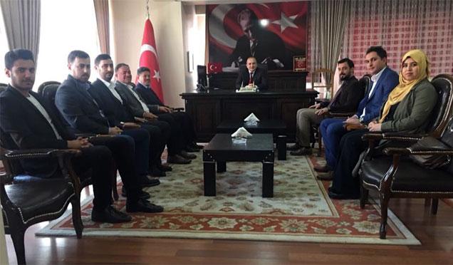 TÜGVA Kırıkhan'da çalışmalarına başladı