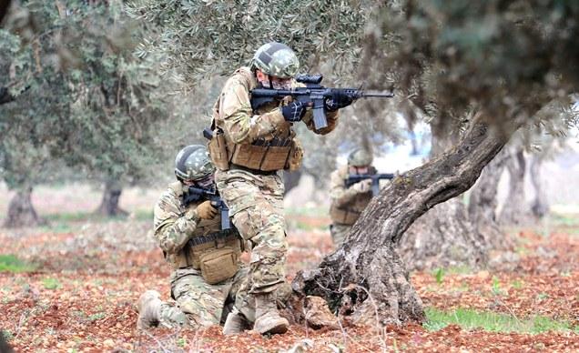MSB açıkladı: Afrin'de terörislere karşılık verildi