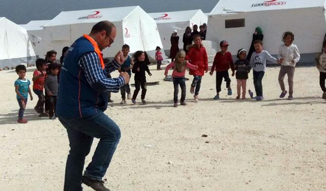 AFAD'tan Suriyeli çocuklara psikolojik destek verdi