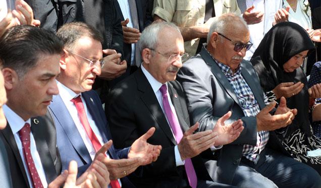 CHP Genel Başkanı Kemal Kılıçdaroğlu Hatay'da