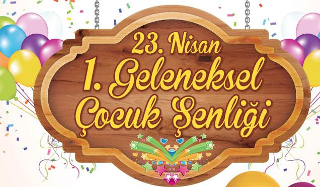 Merkez Marketten 23 Nisan'a özel çocuklara bayram yaptıracak etkinlik