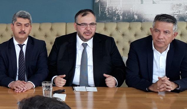 Saadet Partisi Hatay'da imza kampanyası başlattı