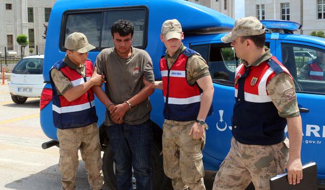 Afrin'de yakalanan YPG/PKK'lı tutuklandı