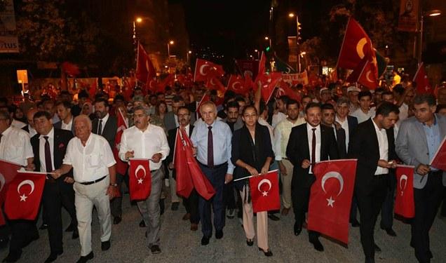 Hatay'da 15 Temmuz Demokrasi ve Milli Birlik Günü etkinliği