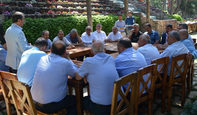 Belen'de Mahalle Muhtarlarına, İmar Barışı anlatıldı