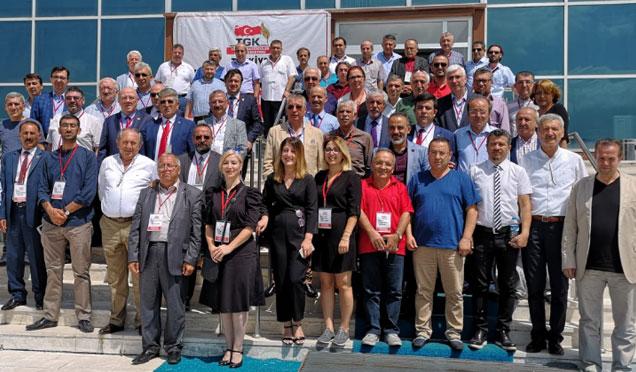 Türkiye Gazeteciler Konfederasyonu 16. Başkanlar Kurulu Ardahan'da toplandı