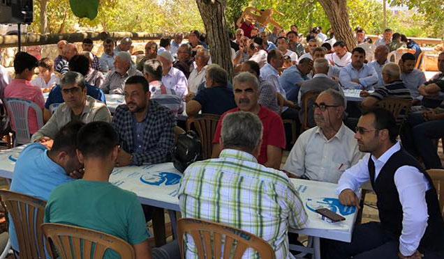 Şenköy'de geleneksel Sıla-İ Rahim etkinliği