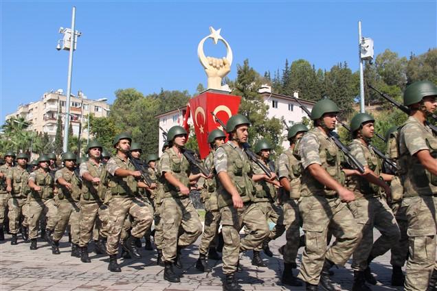 30 Ağustos Zafer Bayramı Kırıkhan'da kutlandı