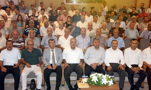 """Hatay'da """"Akdeniz Meyve Sineği İle Mücadele Yöntemleri"""" Konulu toplantı gerçekleşti"""