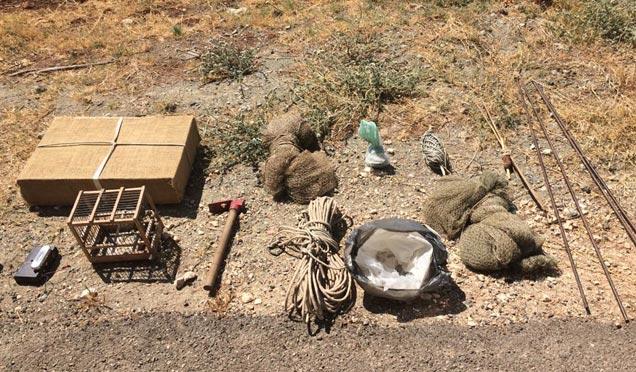 Jandarmadan kaçak avcılara suçüstü