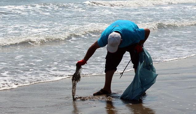 5 Ayda sahillerimizden 645 Ton atık toplandı