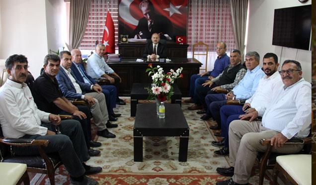 HAYAD Derneğinden Kaymakam Karamehmetoğlu'na ziyaret