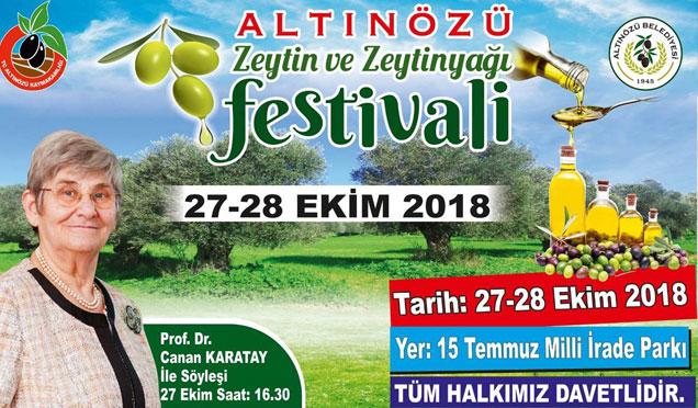 Hatay'da 2. Zeytin ve Zeytinyağı festivali düzenlenecek