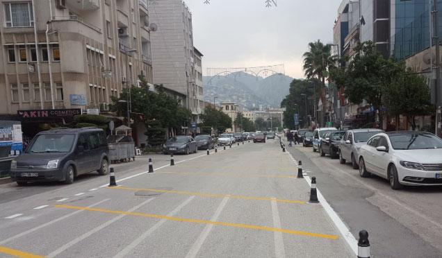 Antakya Atatürk Caddesinde yeni düzenleme