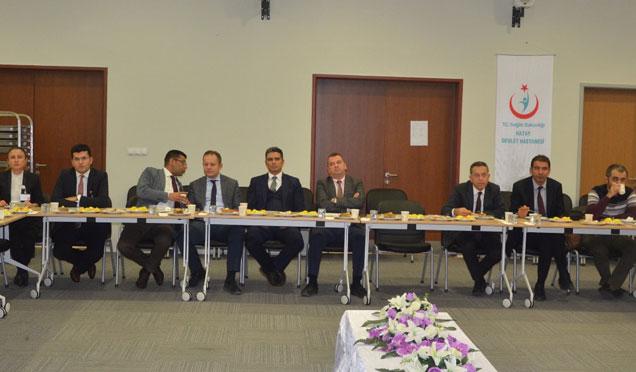 2018 Ekim ayı ASKOM toplantısıHatay Devlet Hastanesinde düzenlendi