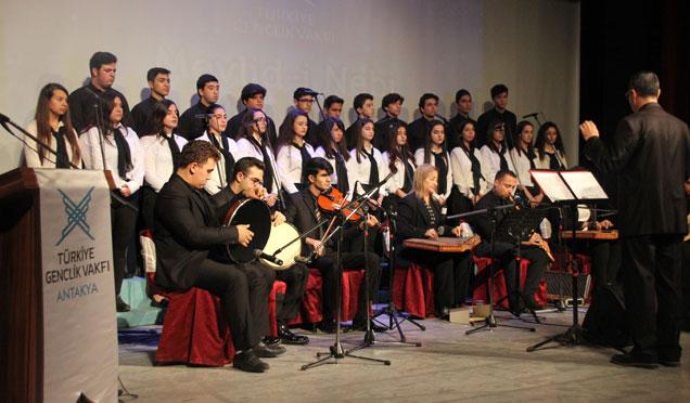 TÜGVA Antakya'dan Mevlid-i Nebi Programı