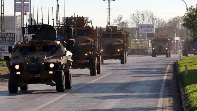 Sınır birliklerine sevk edilen komandolar Kırıkhan'da