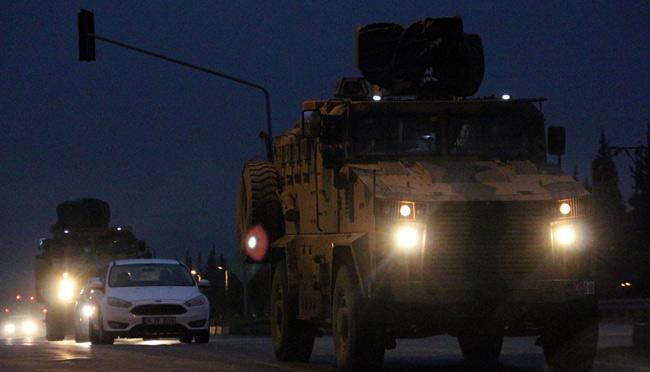 Suriye sınırına gece gündüz sevkıyatlar devam ediyor