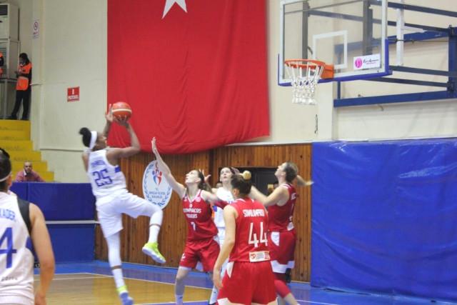 Fıba Kadınlar Avrupa Ligi: Hatay Büyükşehir Belediyespor: 71 – Olympiakos: 55