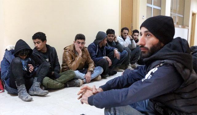 Hatay'da 30 düzensiz göçmen yakalandı